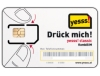 Simcard for Austria Yesss (Voice + Data) with 20 Euro credit